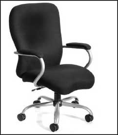 Office Chairs for Heavy People with metal frame