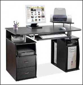 modern computer desk for home office
