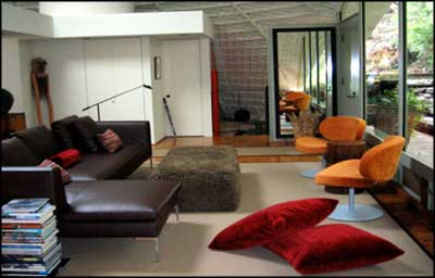 modern lounge by famous interior designers