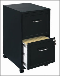CommClad Mobile File Cabinet for the Home