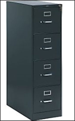 HON Vertical File Cabinet 4 Drawers