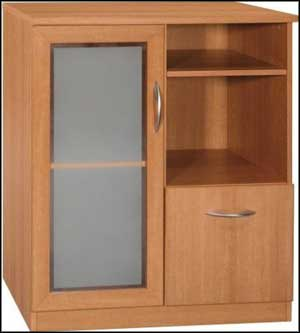 bush office wood storage cabinets