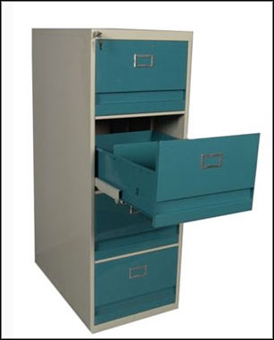 fireproof hon 4 drawer file cabinet