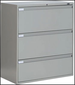 used 3 drawers lateral flie cabinet
