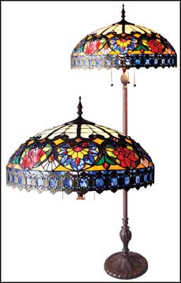 antique tiffany floor lamps