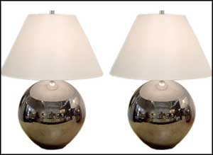 ceramic lamps white shades