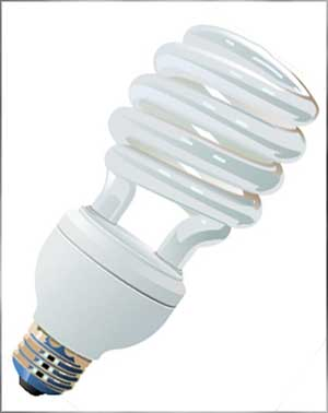 fluorescent light bulb types compact
