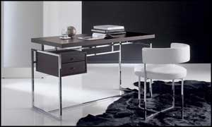 modern secretary desk stainless