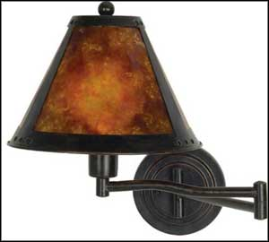 plug-in swing arm wall lamp