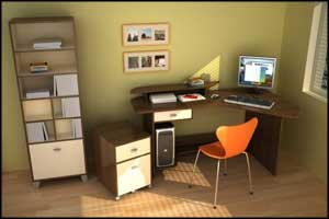 simple office design for home
