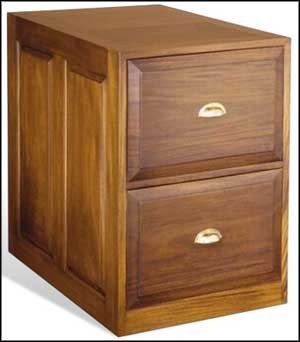 small 2 drawers file cabinet