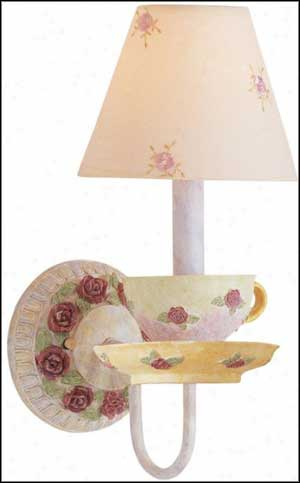 tea time kids wall sconce lamp