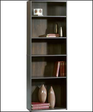 chinamon sauder 5 shelf bookcase