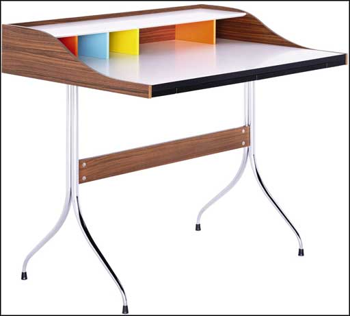 modern home office wooden desk