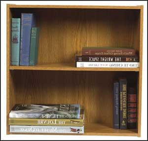 oak sauder bookcase