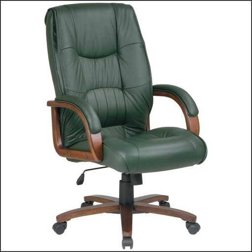 hig back leather cheap computer chairs