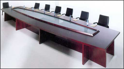 long executive wooden conference tables