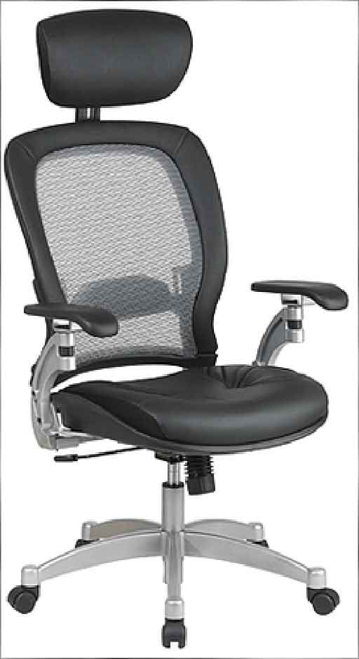 office star professional mesh office chair with headrest