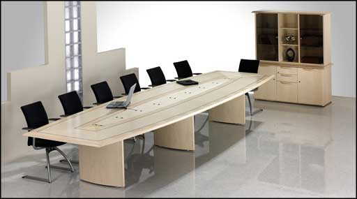 modern executive office meeting table