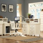 Hanna Corner Executive Office Design White