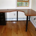 L-Shaped Office Furniture Desk Warehouse