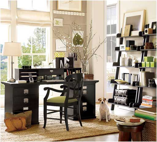 modern home office storage space design