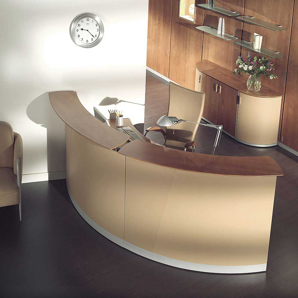 modern office furniture reception desk