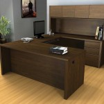 Bestar Office Furniture Design with Built In Storage
