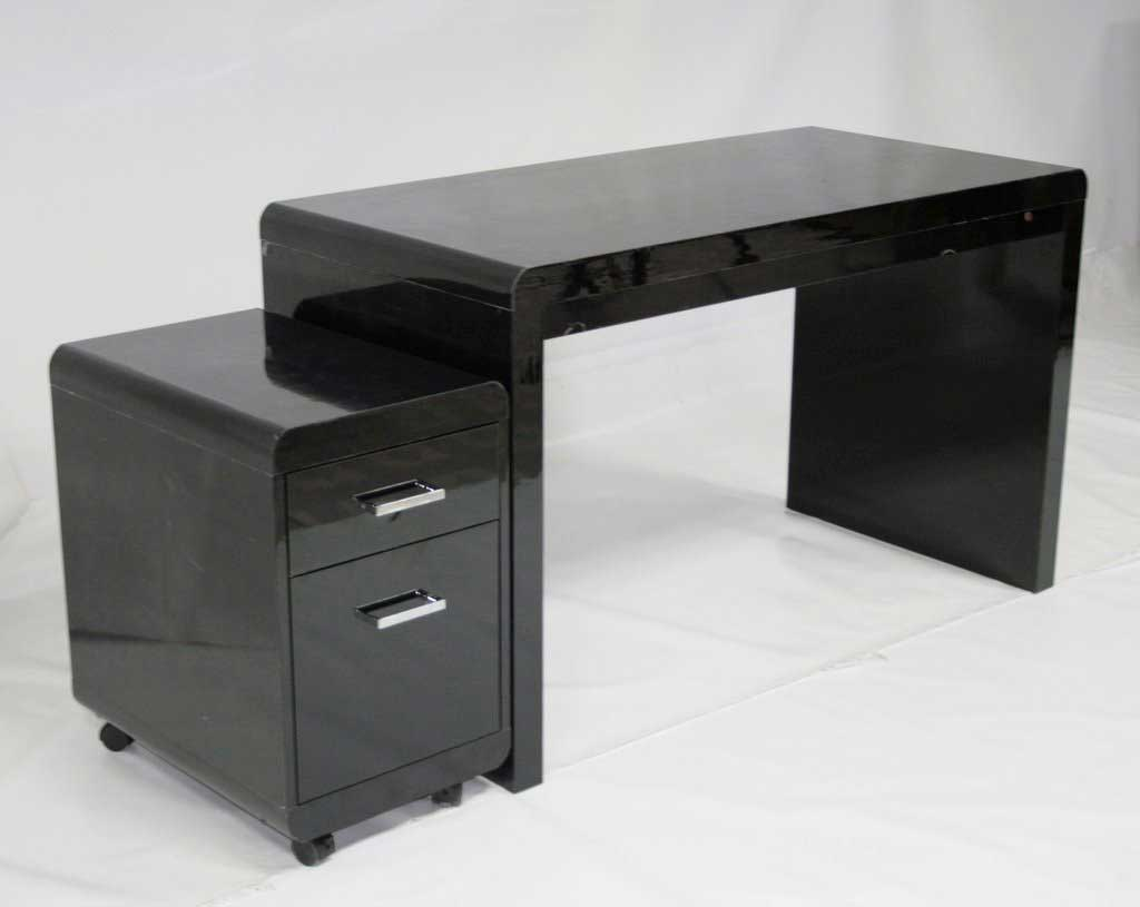 Deep High Gloss Home Office Computer Desks