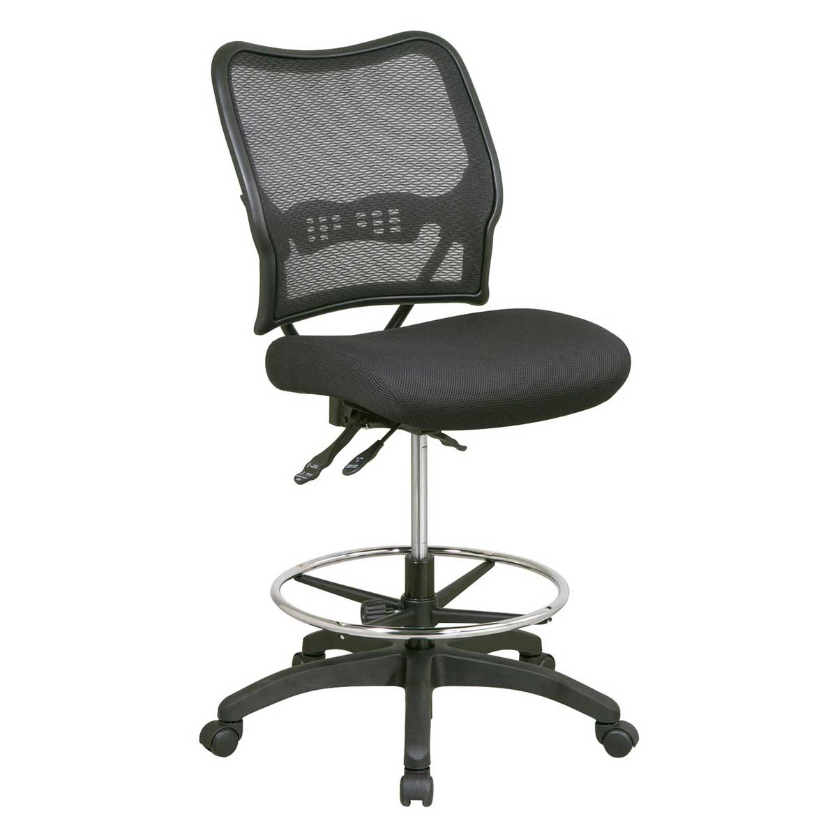Deluxe Ergonomic AirGrid Back Drafting Computer Chair Office Star
