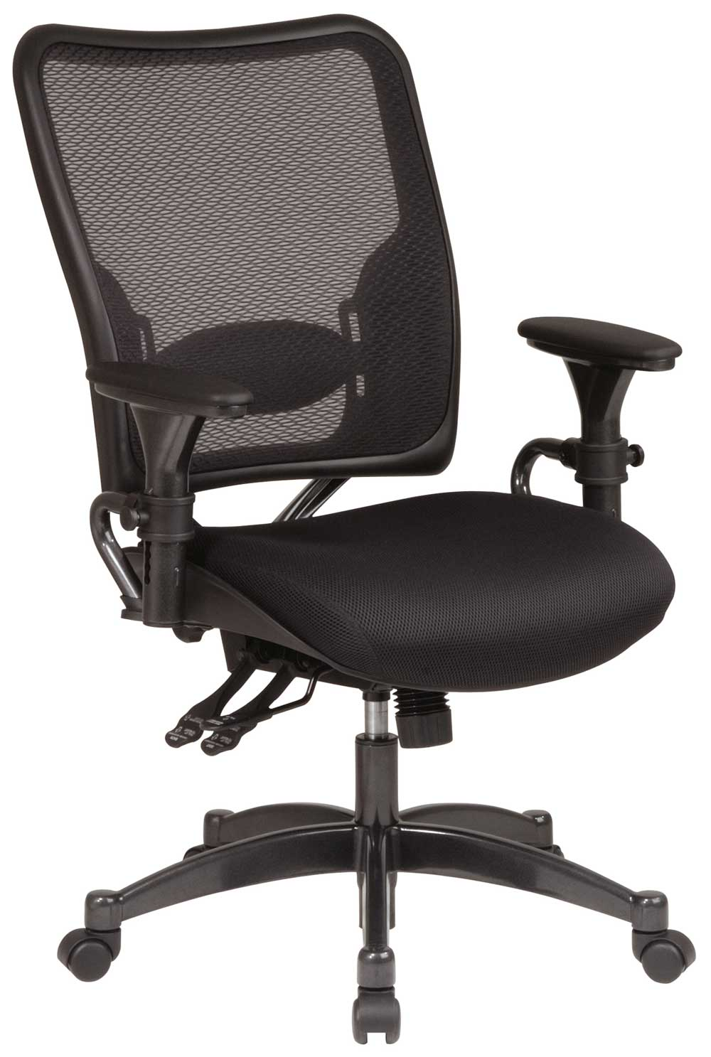 Dual Function Professional Ergonomic Mesh Desk Chair