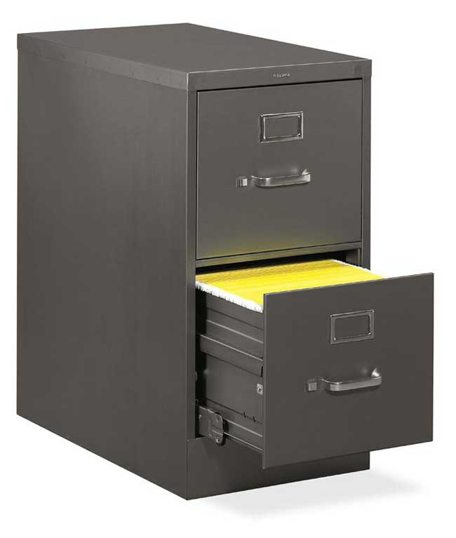 H320 Letter File Cabinets Size 2 Drawer Vertical