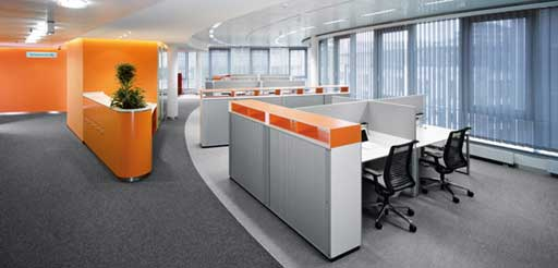 Modern Cabinet System Furniture Design for Office
