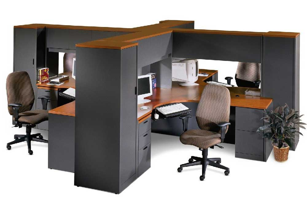 Modern Modular Style Office Workstations