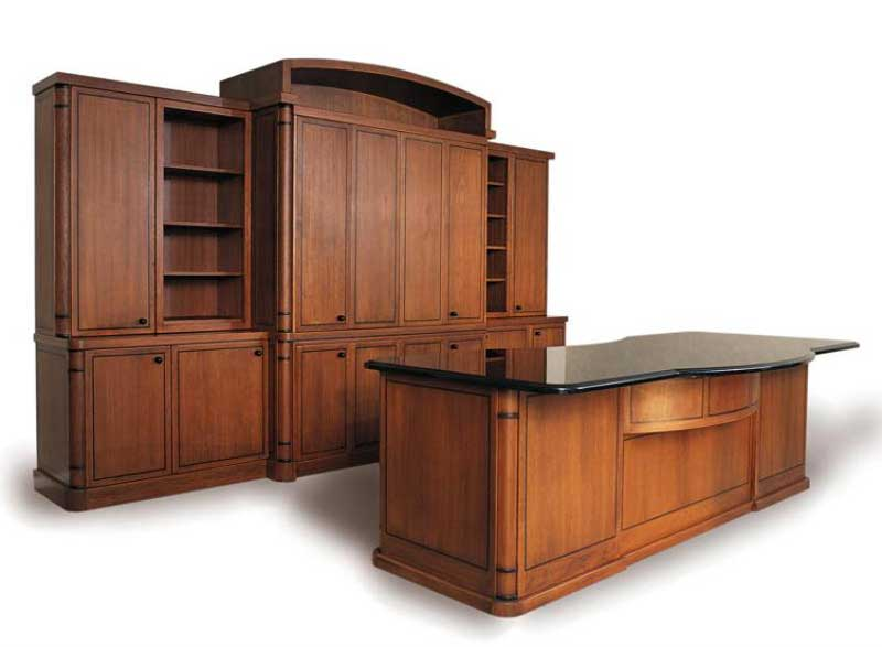 Wooden Office Wall cabinets for Home