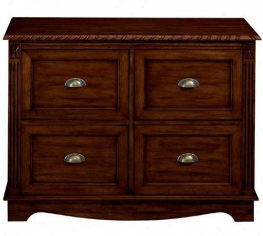 Oak solid wood 4 drawer file cabinets
