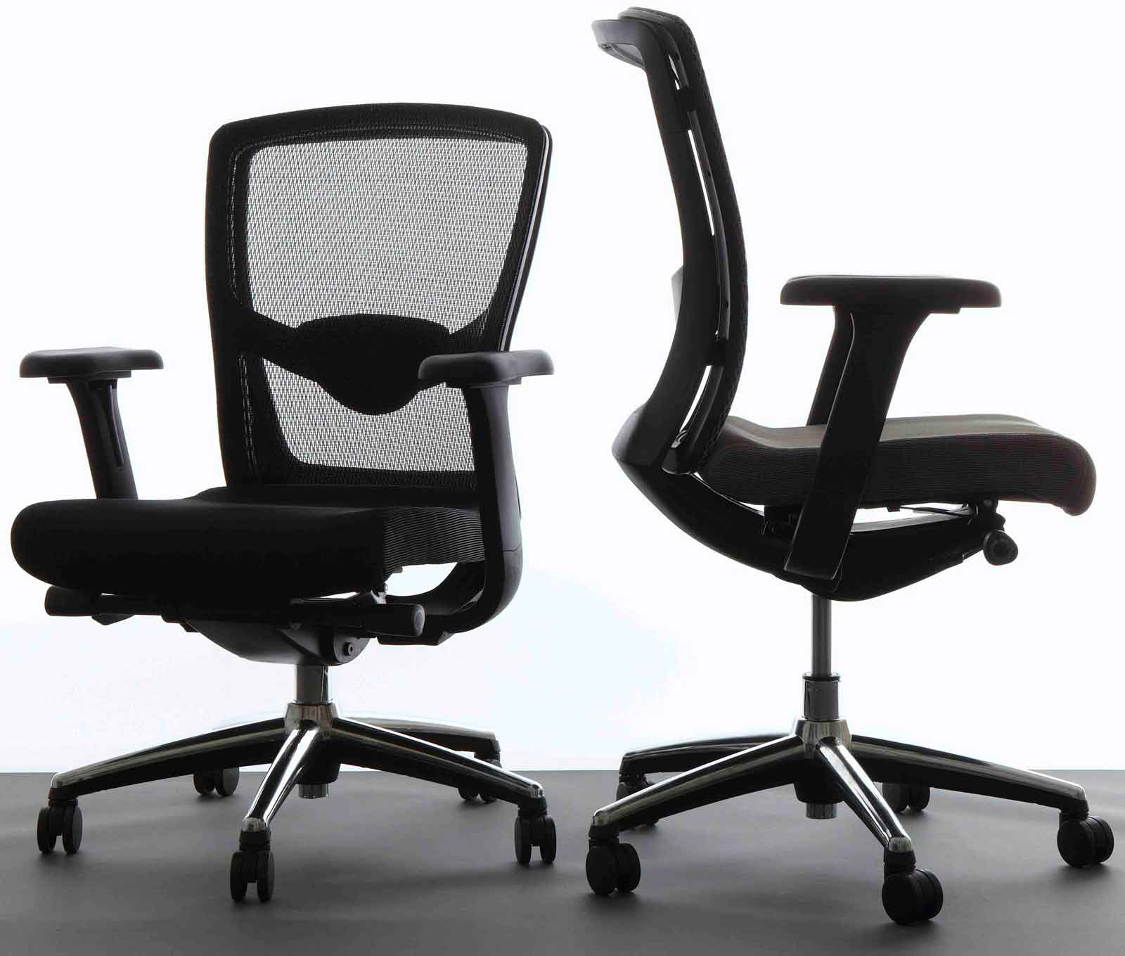 Office Star Mesh Ergonomic Desk Chairs with Seat Slider