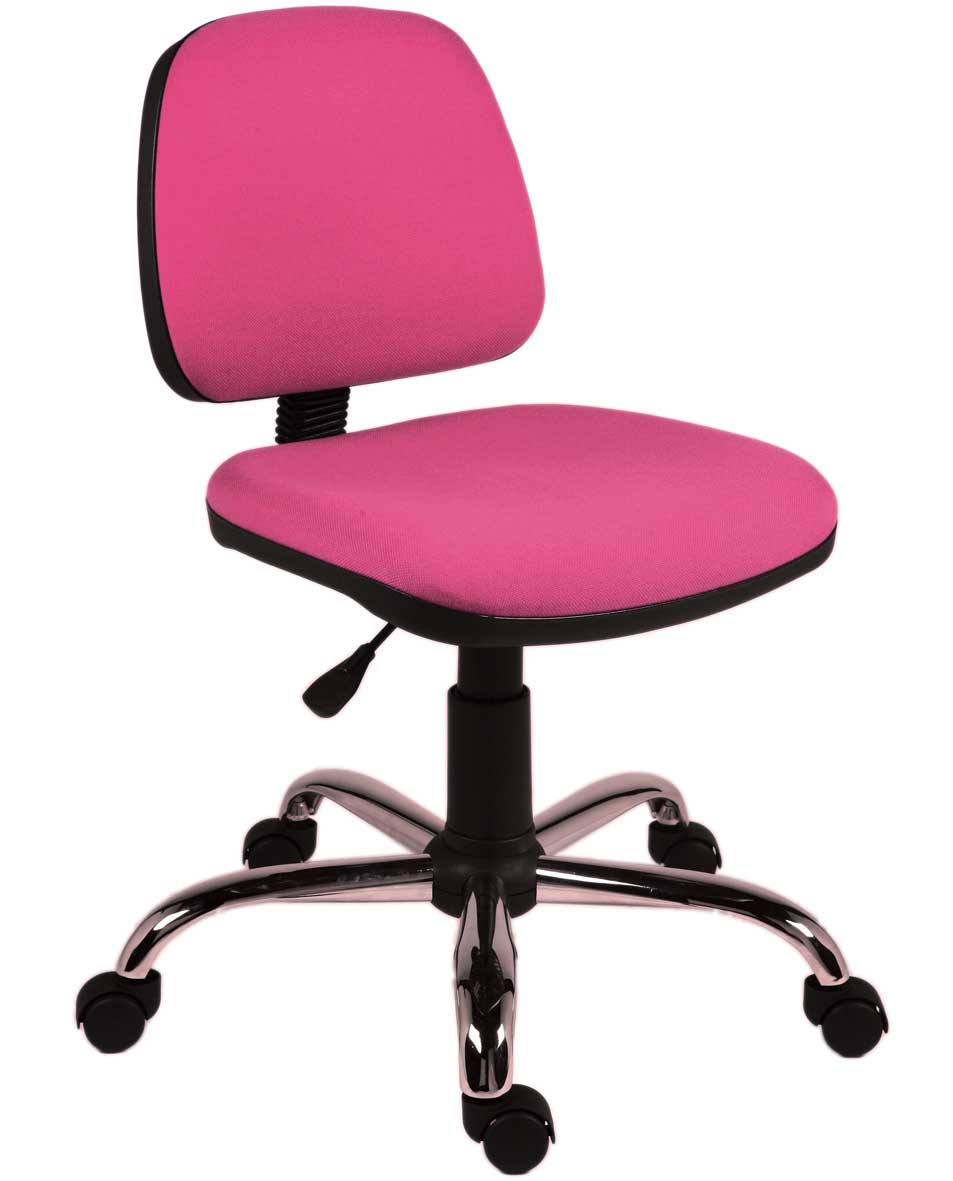 Rose Pink Chair for Office Operator