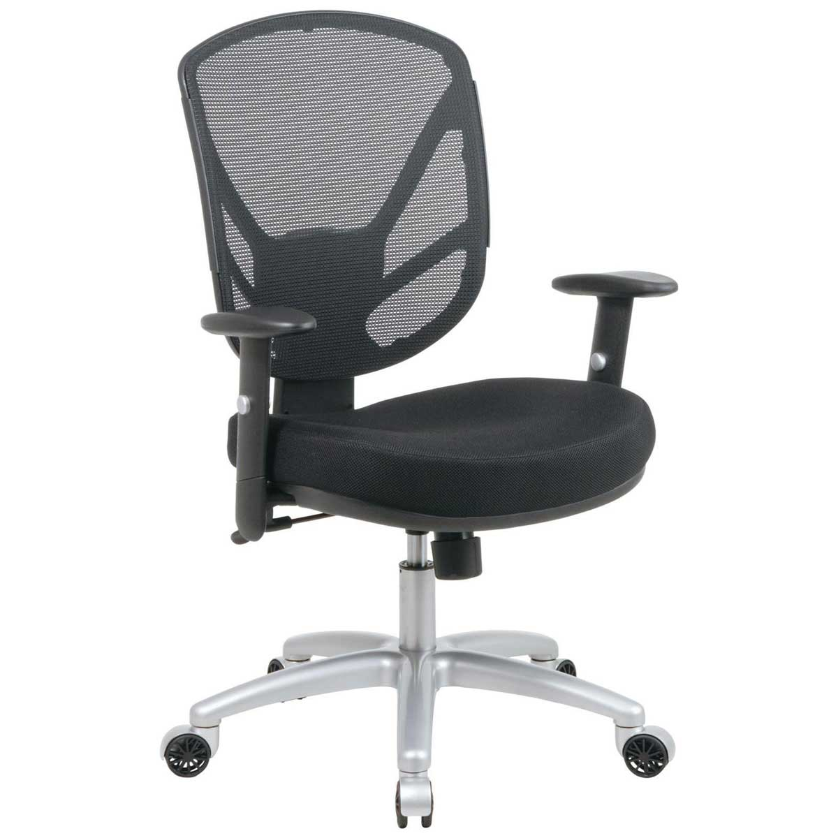 Screen Back Aluminum Office Desk Chair