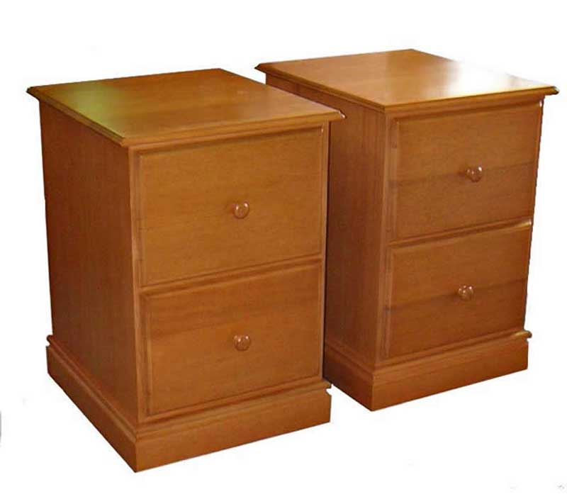 Wooden second hand filling cabinets
