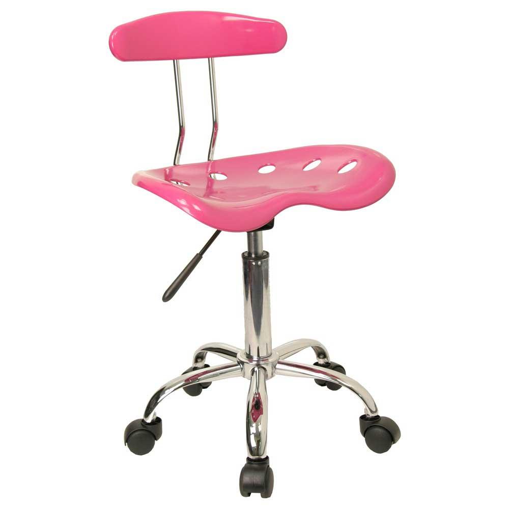 adjustable pink computer chair