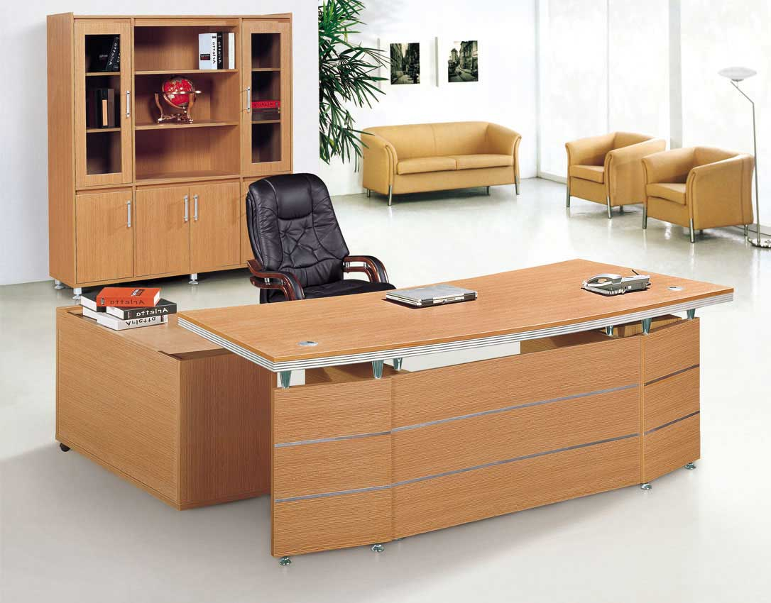 cheap L-shaped office table