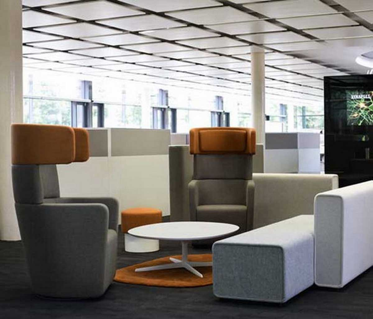 contemporary executive office furniture waiting room