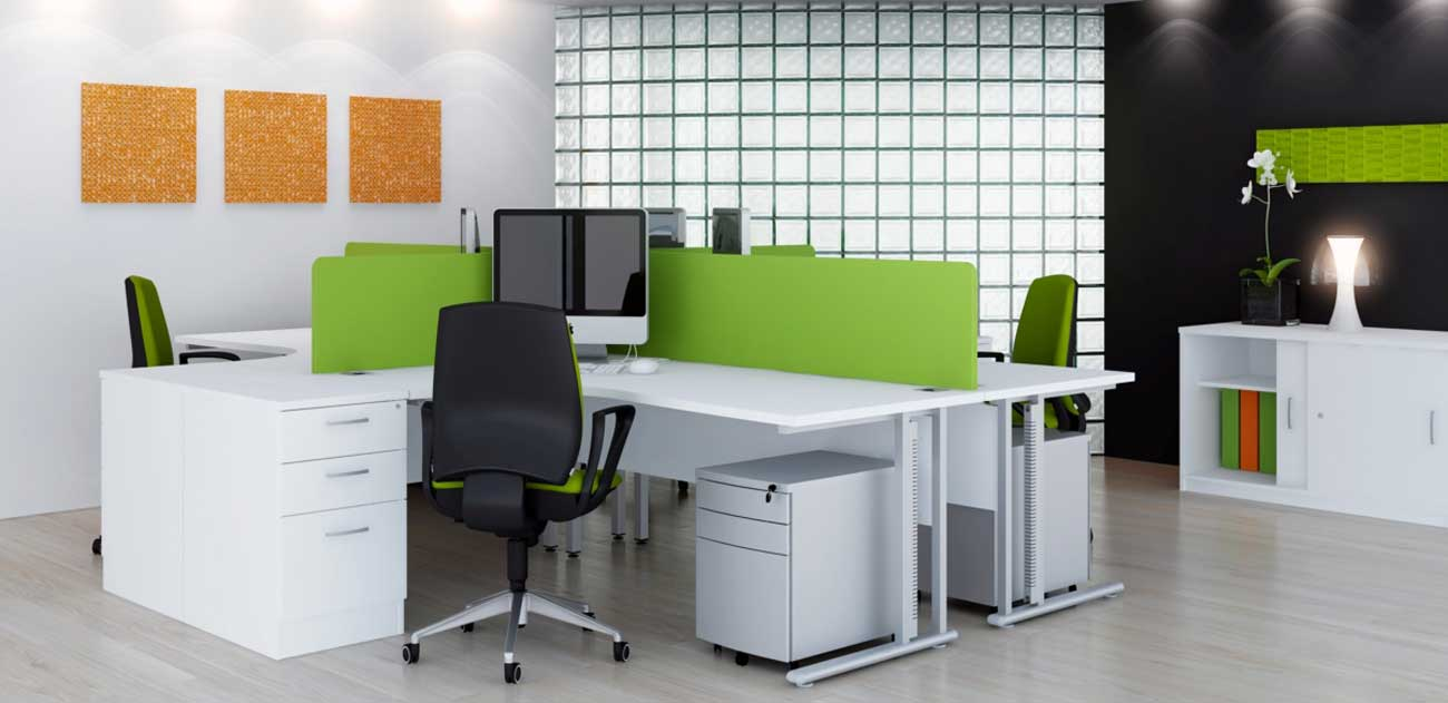 contemporary office chairs and file cabinet