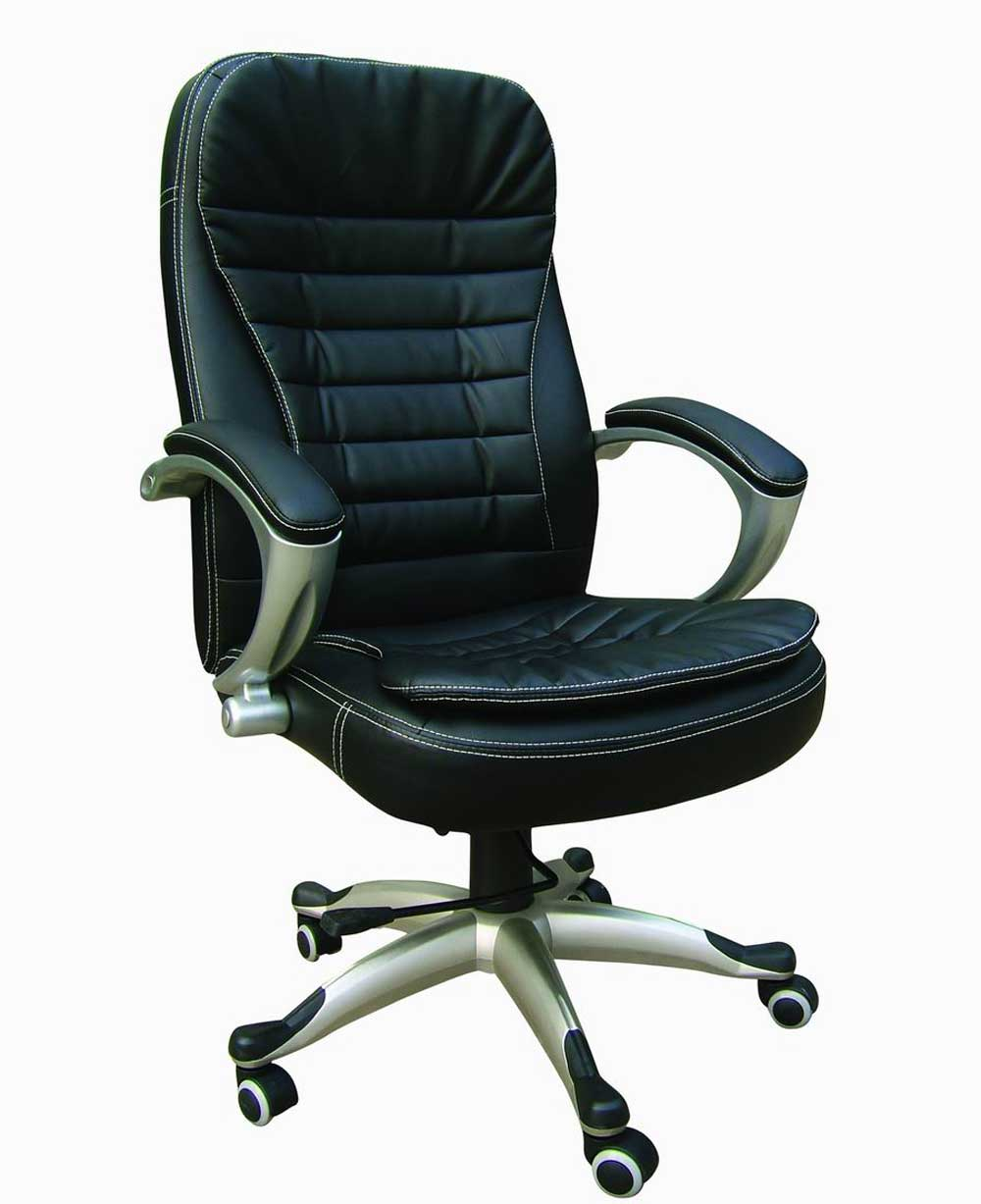 leather office furniture chair with arm and padding