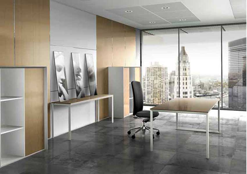 modern corporate office interior decoration concept