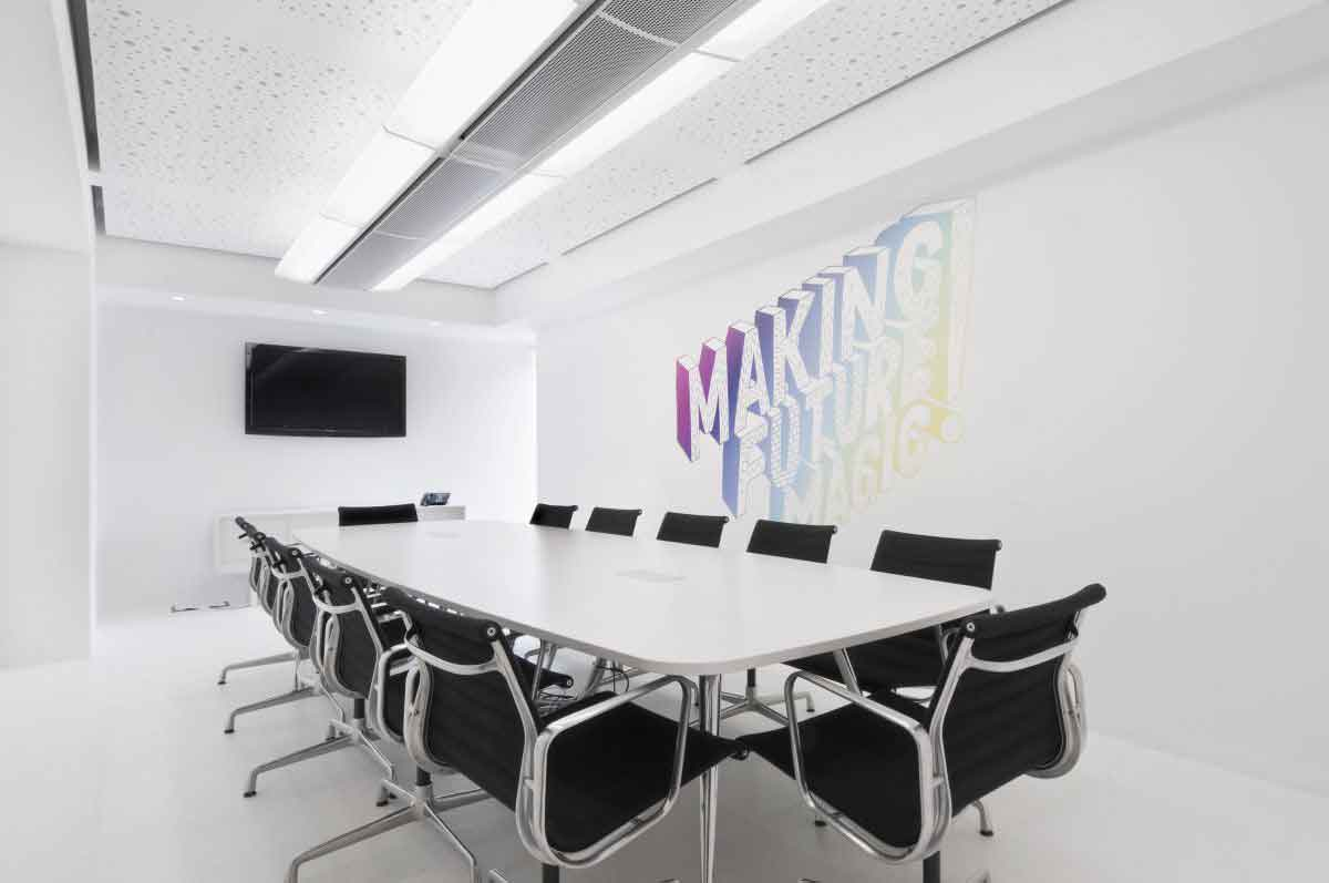 modern office meeting room interior design