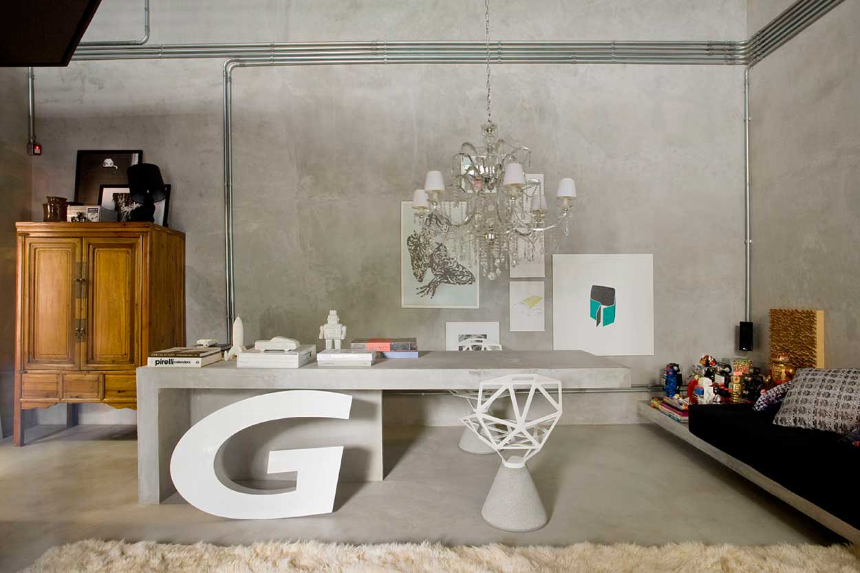 modern simple design for home office