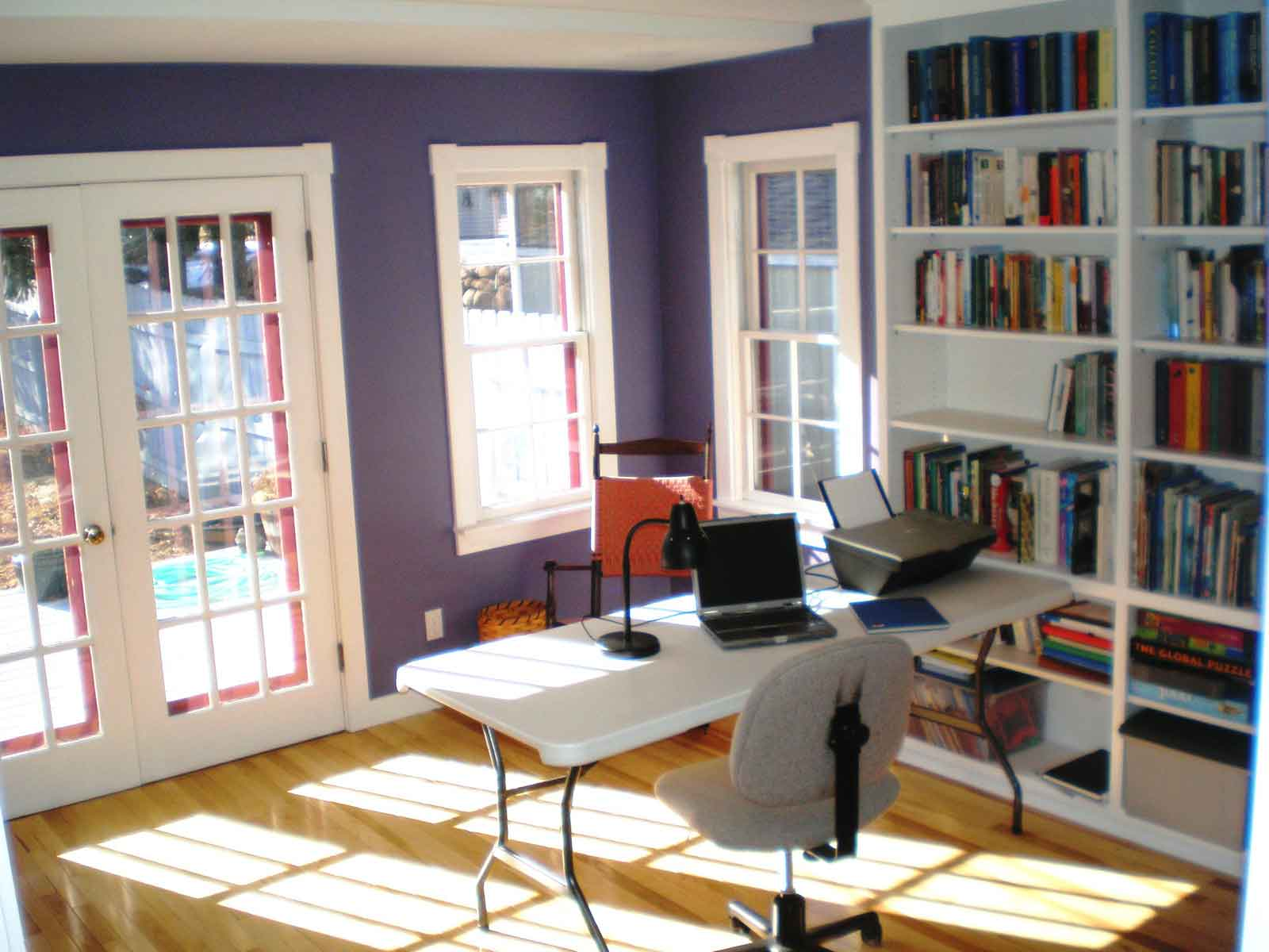refeshing open space design ideas for home office