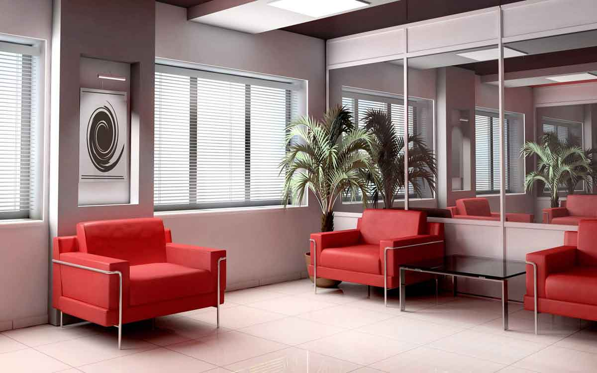 simple modern office interior design